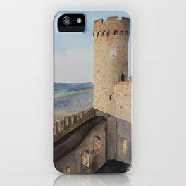 German Castle watercolor painting iPhone Case