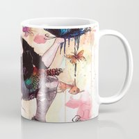 sandman Mugs featuring Delirium, The Sandman by Anguiano Art