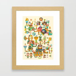 The Chipper Widget Framed Art Print