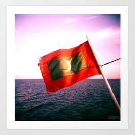 Maldives 03 Art Print