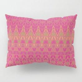 Aztec pattern in burgundy Pillow Sham