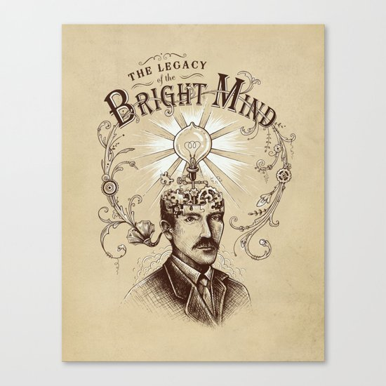 The Legacy of the Bright Mind Canvas Print