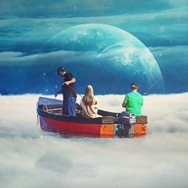 Art Print - In The Same Boat - Seamless