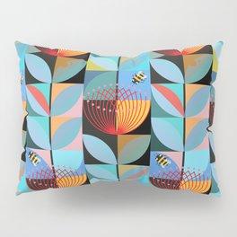 Blue Pohutukawa Pillow Sham