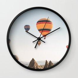Somewhere Over the Rainbow - Cappadocia Wall Clock