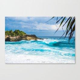 Tropical Ocean Canvas Print