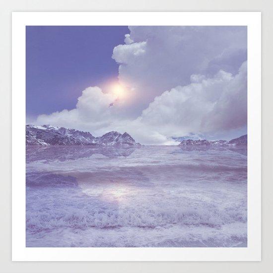 Magic in the Clouds IV Art Print