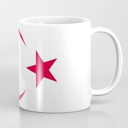 Turkish Republic of Northern Cyprus flag emblem Coffee Mug