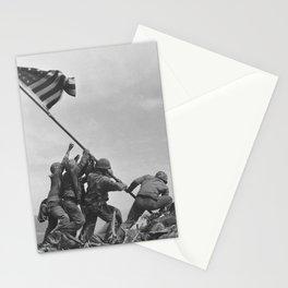 Raising The Flag On Iwo Jima Stationery Cards