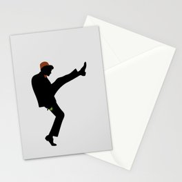 The 11th Doctor of Silly Walks Stationery Cards