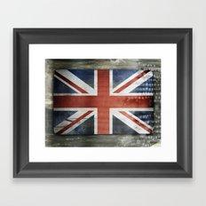 Great Britain, Union Jack Framed Art Print