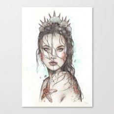 Lost Mermaid Canvas Print