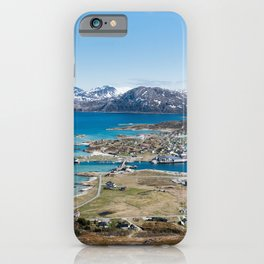 Summer hiking day in Sommarøy, Norway || Tromsø Scandinavian Photo Nature Landscape Mountains snow | Color Travel Photography digital Art Print iPhone Case