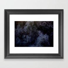 Acqua Nebulae 6 Framed Art Print