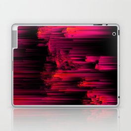 Burnout - Glitch Abstract Pixel Art Laptop & iPad Skin