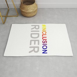 Great for all occassions Inclusion Tee Inclusion Rider Rug