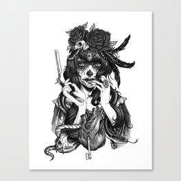 Chicana Canvas Print