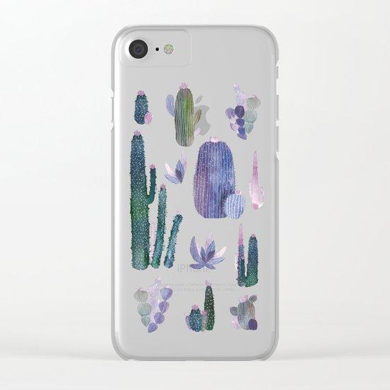 cactus mirror 2 Clear iPhone Case