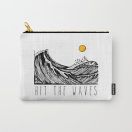 Hit The Waves Carry-All Pouch