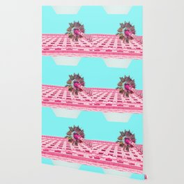 LA Palm Tree Look Up Wallpaper