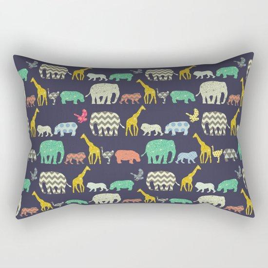 geo zoo Rectangular Pillow