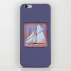 Ghost Sails iPhone & iPod Skin