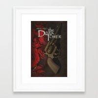 dark tower Framed Art Prints featuring Dark Tower by JAGraphic