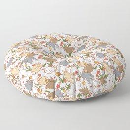 Bunny Infestation Floor Pillow