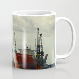 Ship In Dry Dock Coffee Mug