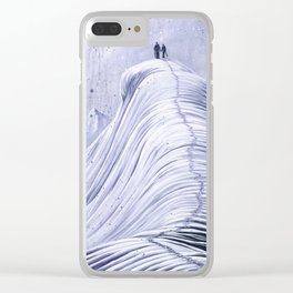 'Mountain Moments' Clear iPhone Case