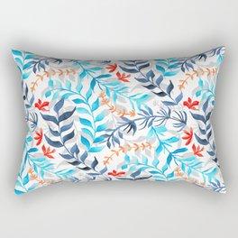 Tropic Gouache Sea Plants  Rectangular Pillow