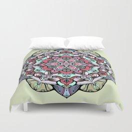 Flowers mandala #38 Duvet Cover