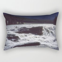 Athabasca Falls 2 Rectangular Pillow
