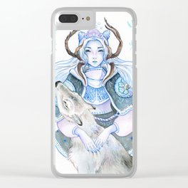 The Last of Winter Clear iPhone Case