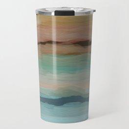 Worn Southwestern Colors Travel Mug