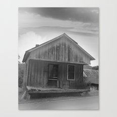 The Good Old Shack Canvas Print