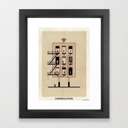 archisolation_17-01 Framed Art Print