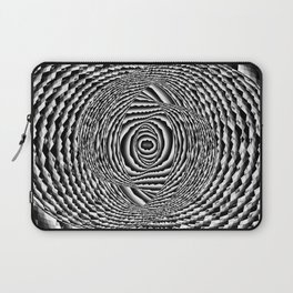 Abstract Spiral Galaxy Laptop Sleeve