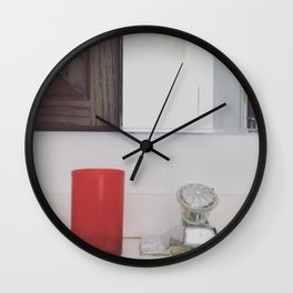 The Red Cup Wall Clock