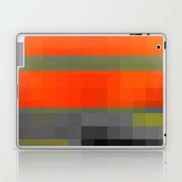 heatwave over smoggy city Laptop & iPad Skin