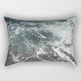 Emerald Gaze Rectangular Pillow