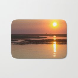 Sunset over the Okavango Delta Bath Mat