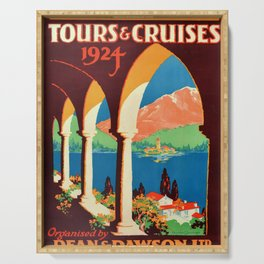 placard Tours and Cruises Serving Tray