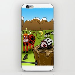 capricious nature iPhone Skin