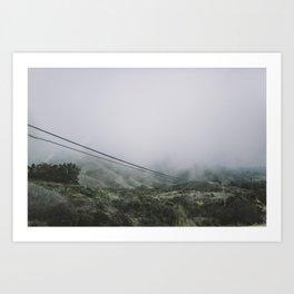 Highway 1, (4) Art Print