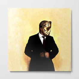 Making an effort this Friday the 13th Metal Print