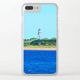 Range Light on Stilts Clear iPhone Case