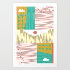 Eye On The City Art Print
