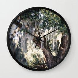 A New Orlean's Day Dream Wall Clock
