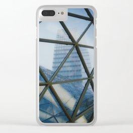 MyZeil 1 Clear iPhone Case
